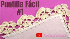 Crochet Edging Patterns, Crochet Necklace, Jewelry, Youtube, Crochet Round, Crochet Dishcloths, Crochet Lace Edging, Crochet Box, Farmhouse Rugs
