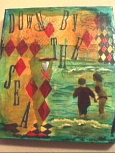 How to Make a Mixed Media Photo Collage on Canvas