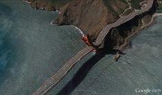 Google Earth glitch - Clement Valla #rhizome