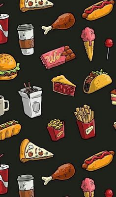 Food wallpapers for iPhone & Android. 🍕🍿🍧 For more Tech News ₹ Gadget updates, click the link below. Teenager Wallpaper, Teen Wallpaper, Glitter Wallpaper, Galaxy Wallpaper, Backgrounds Girly, Cute Wallpaper Backgrounds, Aesthetic Iphone Wallpaper, Cute Wallpapers, Aesthetic Wallpapers
