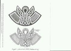 I disegni raccolti in questa pagina sono stati scaricati da Internet e pertanto si possono utilizzare per lavori personali con ... Irish Crochet, Crochet Lace, Bruges Lace, Lace Art, Bobbin Lace Patterns, Lacemaking, Point Lace, Theme Noel, Lace Jewelry