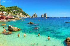 Capri and Blue Grotto Day Tour from Naples or Sorrento, Amalfi-Coast