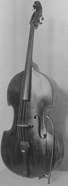 Double Bass and Bow