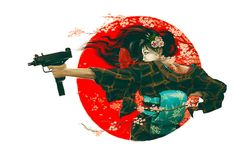 Tokyo Extreme /by Draco #behance #art #japan