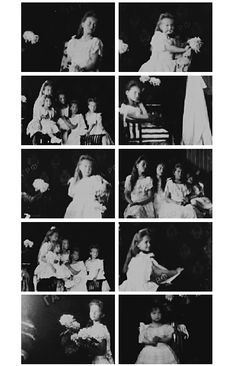 Behind the scene photos of the last Imperial children's formal portraits in 1906. (cr.)