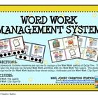 Word+Work+Management+System:    This+document+includes+resources+you+can+use+to+manage+a+the+Word+Work+portion+of+Daily+Five.++You+can+label+the+bi...