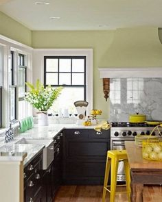 Get design inspiration from these 50 charming small kitchens. #smallkitchen #kitchendesign #kitchens