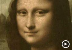 Image: Video still showing a detail of Leonardo da Vinci's 'Mona Lisa' (© Smithsonian Channel)