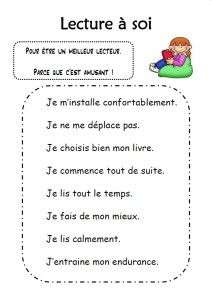 This can be helpful for students who need help tracking reading. Daily 5 Reading, Teaching Reading, Teaching Ideas, French Education, Education And Literacy, French Teacher, Teaching French, French Flashcards, School Plan