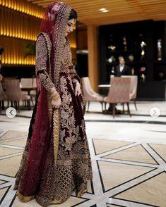 Stylish Dresses For Girls, Wedding Dresses For Girls, Bridal Wedding Dresses, Bridal Outfits, Bridal Hijab, Pakistani Wedding Dresses, Bridal Lehenga, Hijabi Wedding, Beautiful Bridal Dresses