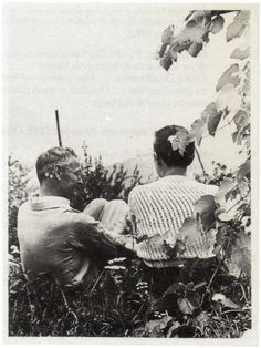 Hermann Hesse, probably photographed by his son Martin Hesse, ca. 1935...♔..