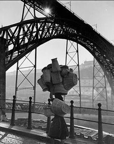 """luzfosca: """" Kees Scherer Un enchantement simple Porto, Portugal, """" History Of Portugal, Porto City, Sea Activities, Douro, Best Cruise, Portugal Travel, Earth From Space, Photojournalism, Old Photos"""