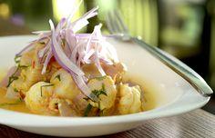 Ceviche de peixe branco, prato do menu do Dia dos Namorados no restaurante Killa Novoandino (Foto: Tadeu Brunelli / Divulgação)