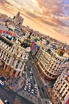 Madrid - The capital and largest city in Spain. In or near Madrid there are many interesting places to visit. Places Around The World, Oh The Places You'll Go, Travel Around The World, Places To Travel, Places To Visit, Around The Worlds, Dream Vacations, Vacation Spots, Vacation Rentals