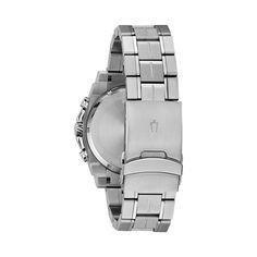 1ebad43de Bulova Men's Precisionist Champlain Stainless Steel Chronograph Watch -  98B316