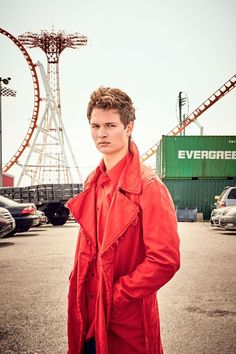 Ansel Elgort (Billboard )