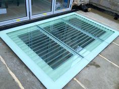 Walking On Glass, Roof Light, Walk On, Glass Panels, Basement, Construction, Design, Home Decor, Style
