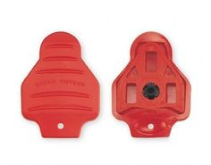 Bike Cleat Covers - Exustar Red Look Delta Compatible Cleat Covers -- For more information, visit image link.