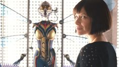 Ant-Man and The Wasp Celebrates Jack Kirby's Birthday With A New Image of Evangeline Lilly In Her Costume.- マーベルのコミックヒーロー映画の続篇「アントマン・アンド・ザ・ワスプ」が、戦うヒロインのコスチュームを身につけたエヴァンジェリン・リリーの写真を初公開 - 映画 エンタメ セレブ & テレビ の 情報 ニュース from CIA Movie News / CIA こちら映画中央情報局です