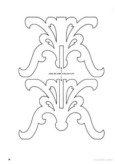 Discover thousands of images about Scrollsaw Patterns scale table base doll furniture Cardboard Furniture, Cardboard Crafts, Doll Furniture, Dollhouse Furniture, Wood Crafts, Apartment Furniture, Cardboard Chandelier, Motifs Islamiques, Scroll Saw Patterns Free