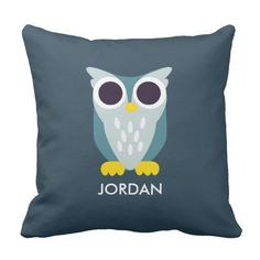 Henry the Owl. Regalos, Gifts. #cojín #pillow