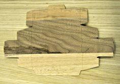 Caubox-SM small non assemblata - esterno / Caubox-SM small not yet assembled - front