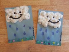 Flowers art projects for kids preschool april showers 55 Ideas Weather Crafts, Rainy Day Crafts, Spring Crafts For Kids, Rainy Day Activities, Spring Activities, Craft Activities, Art For Kids, Preschool Weather, Preschool Projects