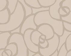 AS Creation Raffi my home behang Geometric Floral Wallpaper, White Flower Wallpaper, Wallpaper Paste, Wallpaper Roll, Stencil Art, Designer Wallpaper, Flower Patterns, White Flowers, Diy Projects
