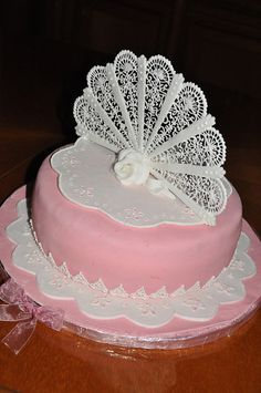 VENTAGLIO IN FILIGRANA e Broderie Anglaise by le torte di Gio' & Sandry, via Flickr