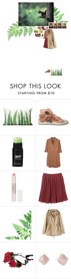 """Без названия #325"" by anya-moscow ❤ liked on Polyvore featuring Pokemaoke, United by Blue, Topshop, Monki, Michael Kors, set, look, fashionset and NatureBeauty"