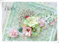 Wild Orchid Crafts: Pink & Mint - 2 Pastel Cards