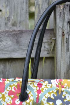 How to make faux leather purse straps