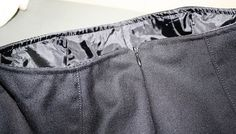 Petite and Sewing: Lining a Skirt