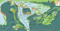 Mapas de Puerto Iguazu - Argentina - MapasBlog