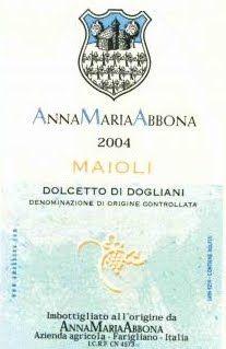 2010 Anna Maria Abbona Maioli, Dogliani DOCG, Italy 93 pts, 13 pounds