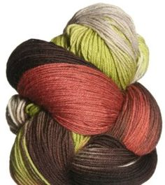 """I love sock yarn.  It's an addiction.  This is Lorna's Laces Shepherd Sock Yarn - September limited """"Rustic Wedding"""""""