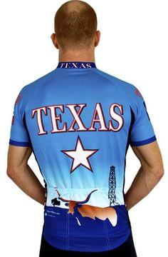 Amazon.com   Texas CoolBlue Short Sleeve Cycling Jersey - 3XLarge   Sports    Outdoors 51f10dd45