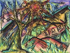 Rote Sonne , 1919