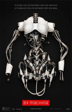 A great poster from Ex Machina, the 2015 Alex Garland movie! Starring Domhnall Gleeson, Oscar Isaac, and Alicia Vikander. Need Poster Mounts. 2015 Movies, Hd Movies, Movies Online, Movie Tv, Indie Movies, Action Movies, Watch Movies, Cyberpunk, Alicia Vikander
