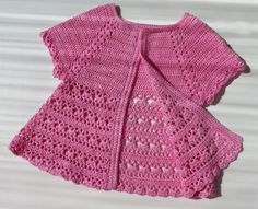 Click to view pattern for - Crochet blouse for girl