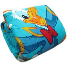 TRAPUNTA PIUMONE Disney PAPERINO DONALD DUCK SINGOLO UNA PIAZZA DOUBLE FACE #letto #homedecor #cartoons #kids