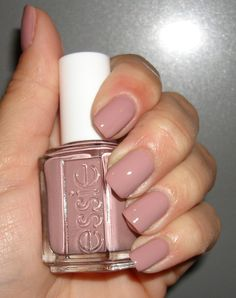 Classic and purdy, and I NEVER like color on my fingernails, but I actually like this one!~Essie ~ Lady Like