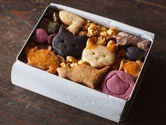Biscuit Cookies, Cake Cookies, Sugar Cookies, Cookie Gift Boxes, Cookie Gifts, Icebox Cookies, Homemade Sushi, Cookie Packaging, Cute Desserts