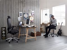 Playing some music! #RHLogic #InspireGreatWork #Design #Scandinavian #office