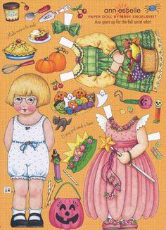 Mary Engelbreit Paper Doll Ann Estelle Vol 11 No 6 Oct Nov 2007 | eBay
