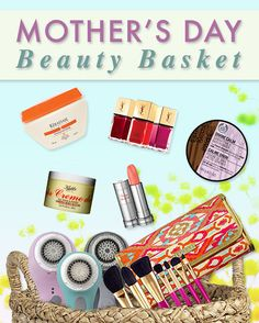 Mother's Day Gift Basket Ideas #mom