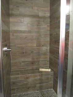 The Tile Shop: wooden tile shower... my favorite!!!