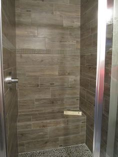 The Tile Shop: wooden tile shower... my favorite!!!