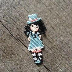 Peyote Beading Patterns, Fuse Bead Patterns, Beaded Jewelry Patterns, Loom Patterns, Loom Beading, Seed Bead Crafts, Beaded Crafts, Miyuki Beads, Beaded Banners
