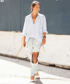 10 denim outfits that don't leave us blue!